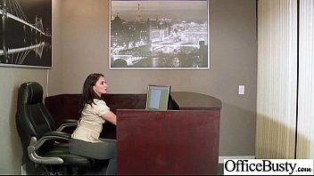 Slut Office Girl With Big Juggs Enjoy Sex movie-17