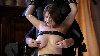 Torture chamber bdsm - Big titted journalist whore gets severe punishment