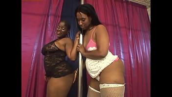 Lesbian Budonkadunk #2 - It's hard to imagine anything more perfect than black BBW lesbians