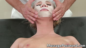 Bailey Brooke rejuvenated by masseurs cock and facial