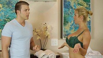 Ultra shy guy enjoys nuru massage with Alexis Fawx - Codey Steele
