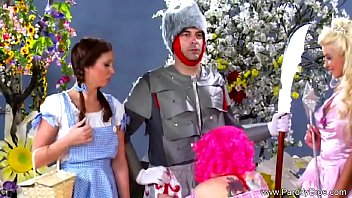 Sexy wizard of oz costumes Not the wizard of oz parody film rocks