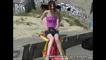 18 years old girl upskirt with no panties preview image