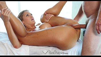 Mature sensuous massage Pure mature sexy blonde audrey irons hot massage
