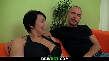 Fat brunette girl is picked up and banged