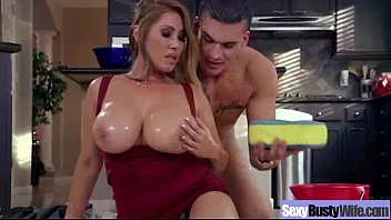 Busty Hot Sexy Wife Love Sex On Camera vid-06