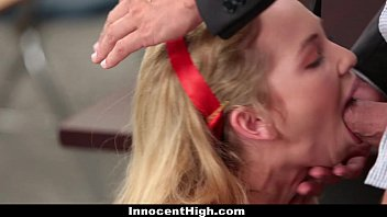 InnocentHigh - Promiscuous Teen Fucks Teacher Image
