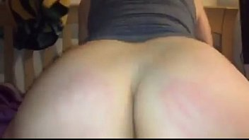 My gf riding my big cock with her Fat Ass!!