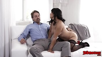 Pretty Asian Mia Li Gets Fucked Hard On Couch