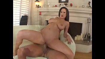Brunette with a great body Stephanie Wylde gets pussy drilled and her ass hole mounted