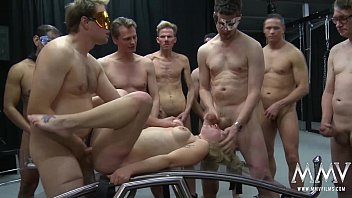 Bdsm bang Mmv films german gangbang in a cage