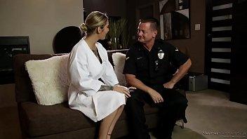 A cop shows up at the nuru massage spa! - Kleio Valentien, Eric Masterson