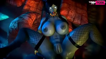3D porn whore Draenei X' sara World of warcraft
