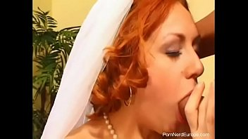 Czech Redhead Bride Fucked