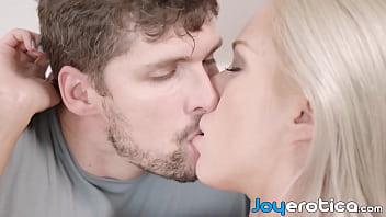 Adorable couple makes love and enjoys mutual oral sex