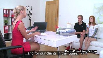 Amateur Couple Fucking For Female Agent