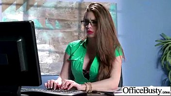 (veronica vain) Busty Hot Office Slut Girl Love Hardcore Intercorse clip-30