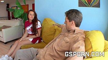 Redhead teen Talia Palmer in a Daddy fuck me porn