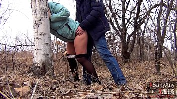 Fee wife pantyhose clips Good sex outdoors with a married hot wife in pantyhose for 40 and a mouthful of sperm xsanyany