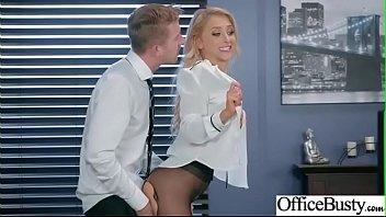 Sex In Office With Horny Busty Slut Girl (Alix Lynx) video-03