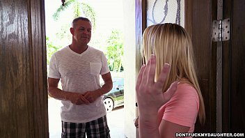 Petite Teen Bailey Brooke's Home Alone With Her Daddy's Friend (Dfmd15100)