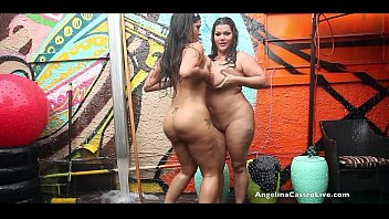 Angelina Castro and Miss Raquel Pussy Play in the rain! - pornhuba thumbnail