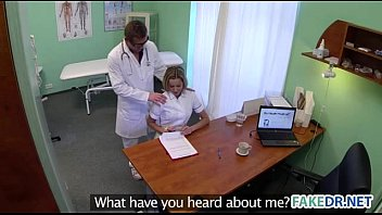 Fake doctor fucks his assistant thumbnail