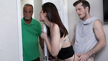 Step Brother Licks His Busty Sister's Pussy and Fucks Her - Michele James