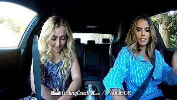 CastingCouch X Newcomer Dakota Bleu fucks casting agent