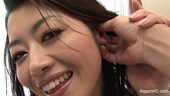 Japanese Babe fingered until she squirts