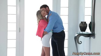 Mother partner's daughter exchange and amateur dad cums in ' chum's