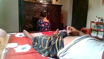 Flashing On My Maid Real Indian Maid