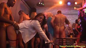 Crazy Sluts Go Wild For Cock At Stripper Party