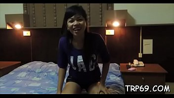 Seductive thai beauty gets caressed and screwed by her boy