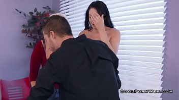 Avi and alura gives cumswap in threesome