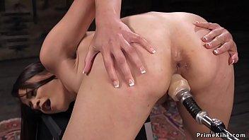 Small tits slut fucking machine