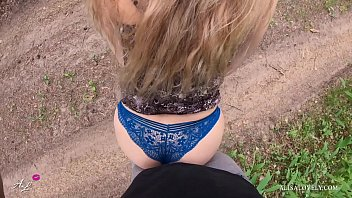 Trailer - Young Couple Walks Through the Woods and Fucked in the Car Outdoors