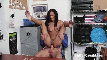 MILF Gets Forced By Cop-Kylie La Beau