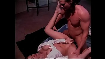 Busty MILF Samantha Silver loves to ride hunk cowgirl style on the staircase