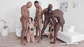 Butt fuck orgy Interracial fucking orgy leaves luna rival sophia laures butts destroyed