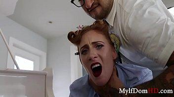 Son Teaches Mom To Enjoy BDSM- Ginger Babbi