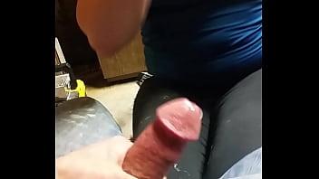 my wife Jessica W sucking my cock till I cum