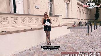 Deutsche BBW Tattoo amateur schlampe beim EroCom Date abgeschleppt und ohne kondom gefickt