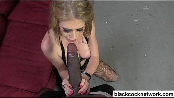 Big Tit Blonde Sucks Bbc