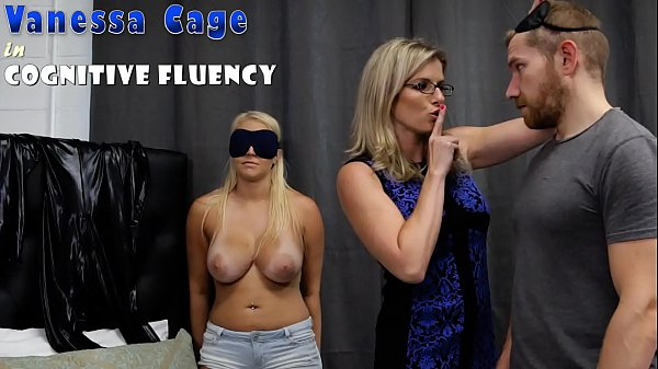 Hot Step Daughter Tricked into a Threesome with Mom and Step Dad - Cory Chase and Vanessa Cage Thumb