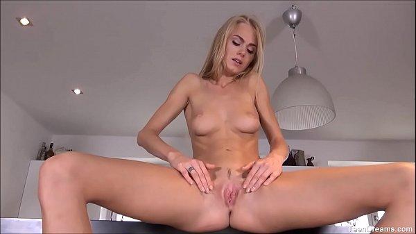 Horny Teen Nancy Finger Pussy Fucks