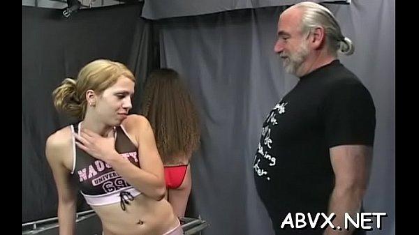 Nude woman spanking movie scene with extreme thraldom Thumb