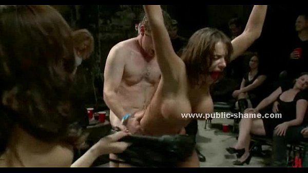 Slut with huge breasts public group sex Thumb