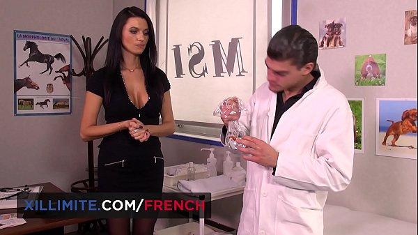 Ania Kinski big tits MILF anal sex with the vet