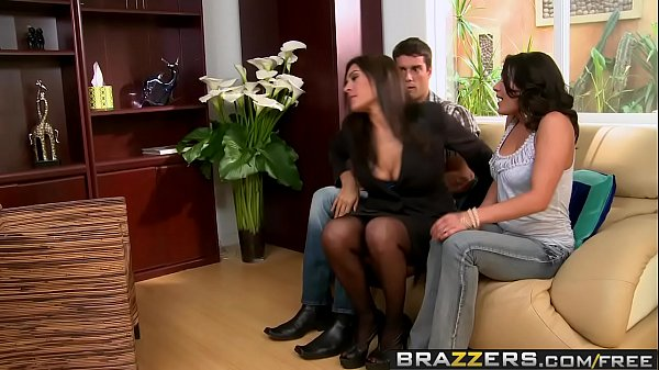 Brazzers - Real Wife Stories - Threesome Therapy scene starring Charley Chase Raylene and Ramon Thumb